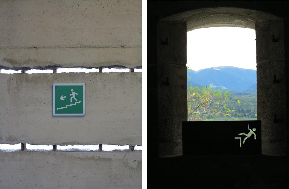 Italian Exit Sign